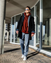 Load image into Gallery viewer, Tomboy-Outfit-Dapper-Style-Streetwear-Fashion-Coat-Jean-Jacket-Hoodie-Dress-Pants-Sneakers