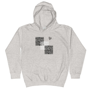tomboy-hoodie-kids-follow-your-heart-maze-heather-grey-front