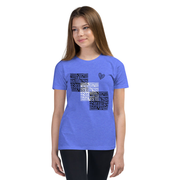 tomboy-t-shirt-kids-follow-your-heart-maze-heather-columbia-blue-girl-model