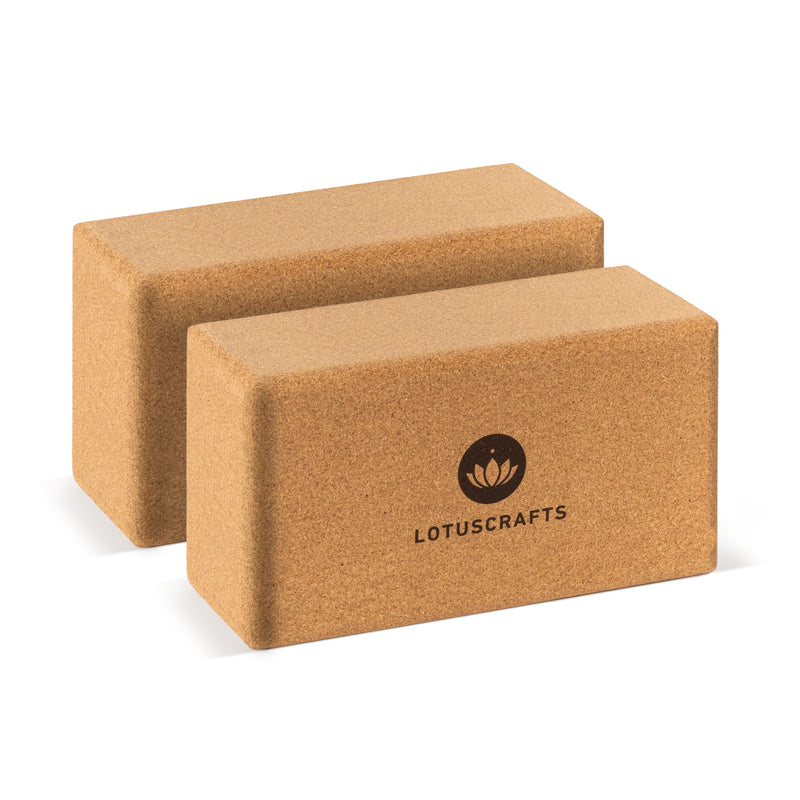 Double Pack Yoga Block (2 pieces)