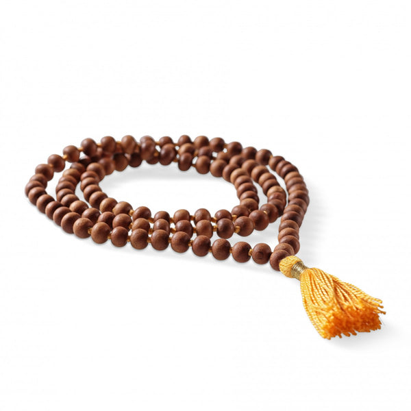 Sandalwood Mala (White sandalwood)