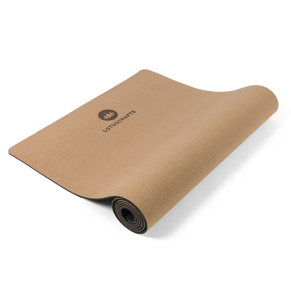 Tapis de yoga CORK LOTUS