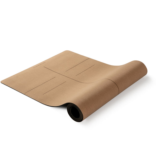 Tapis de yoga CORK FOCUS