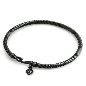 Ohm Dirty Twisted Bangle