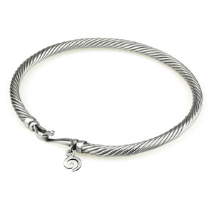 Ohm Twisted Bangle