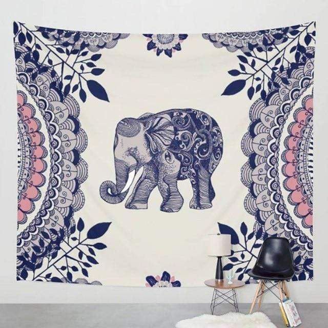 Accessories 01 / 147cm x 147cm Bohemian Elephant Collection II
