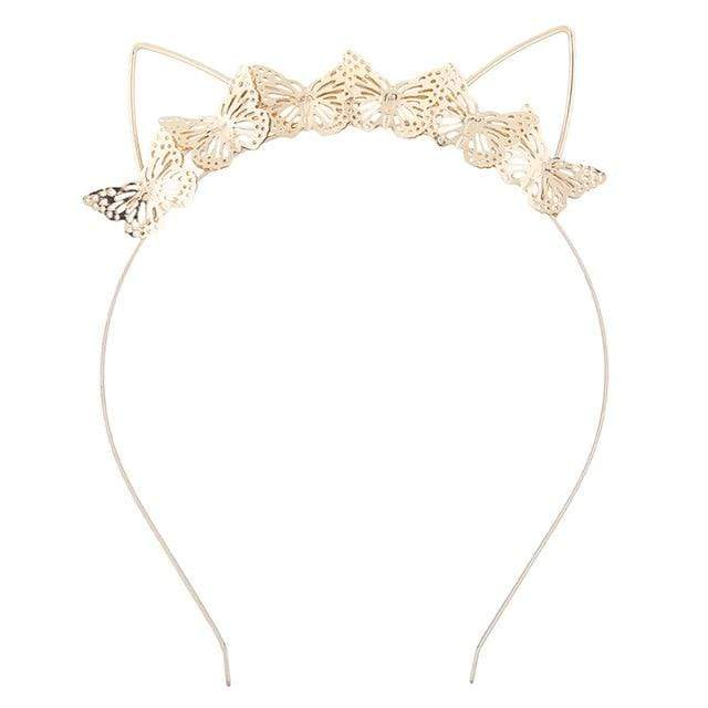 Accessories 17 Rhinestone Cat Ears Headband