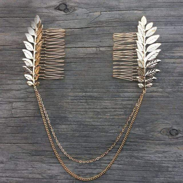 Accessories Bohemian Leaves Head Bijoux