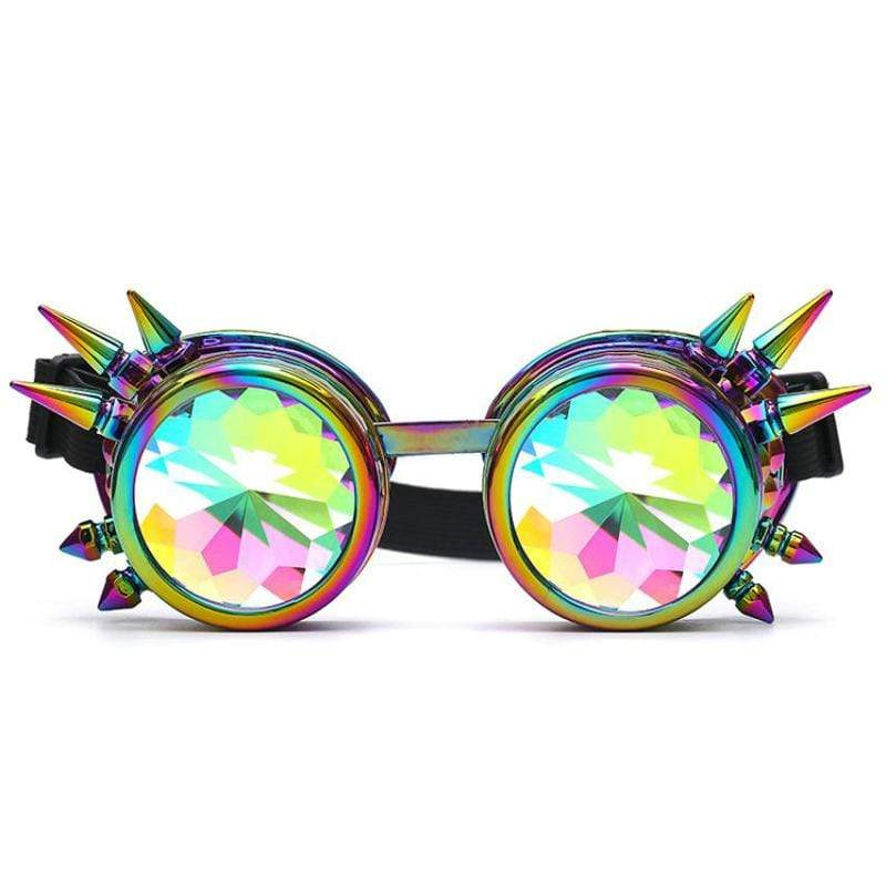 Accessories Festive Rivet MAX Kaleidoscope Glasses