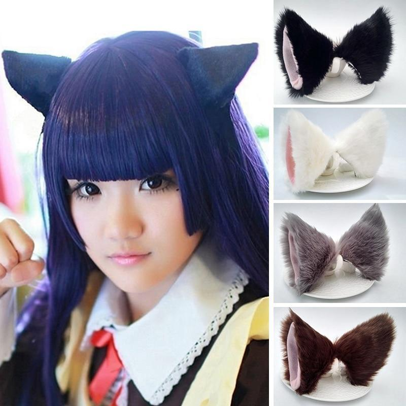 Accessories Fuzzy Cat Ears