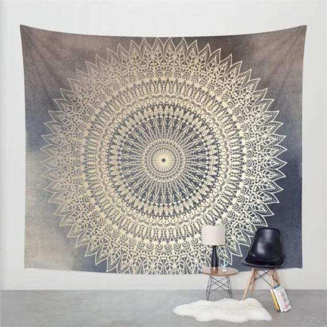 Accessories M (150cm x 130cm) / Mandala Vibrant Tapestry Collection