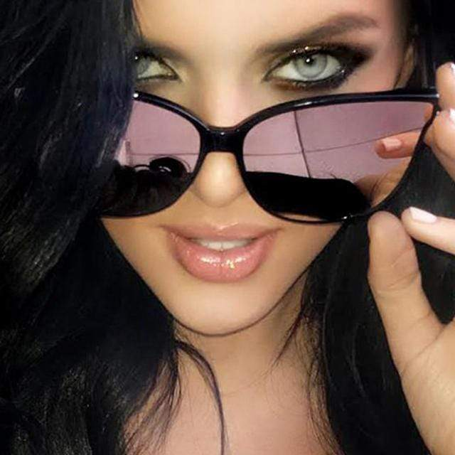 Accessories Single Beam Cat-Eye Sunglasses