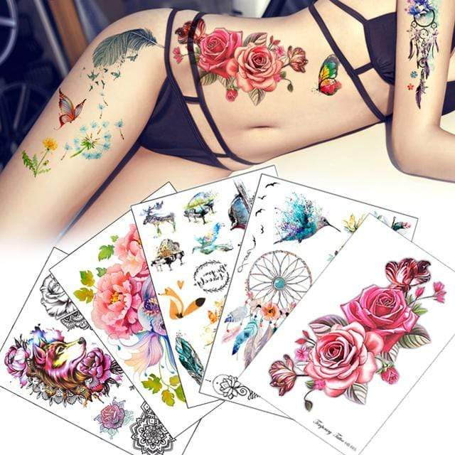 Temporary Tattoo Essence Collection
