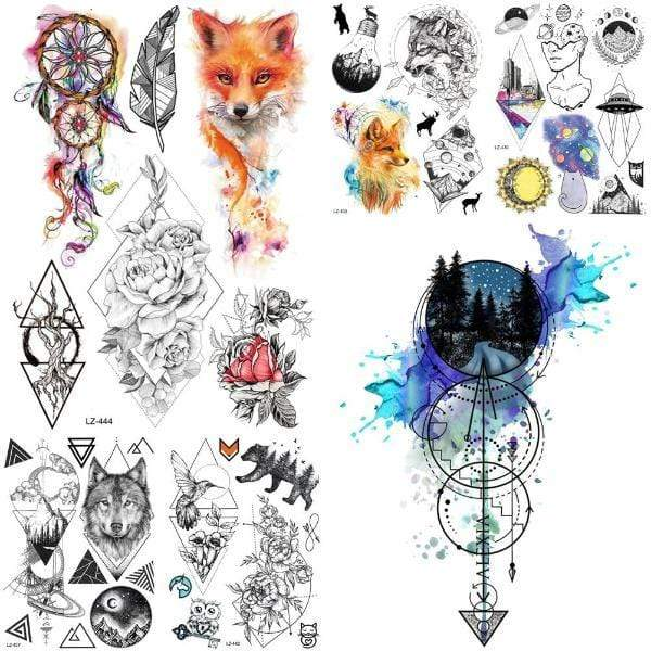 Temporary Tattoo Praluxe Collection