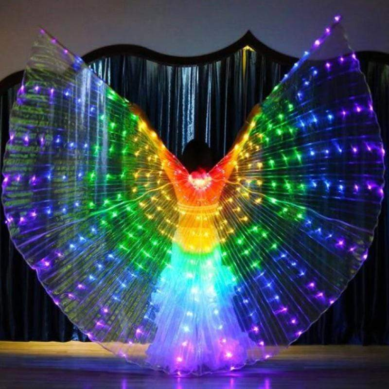 GLOW Hard LED Butterfly Wings