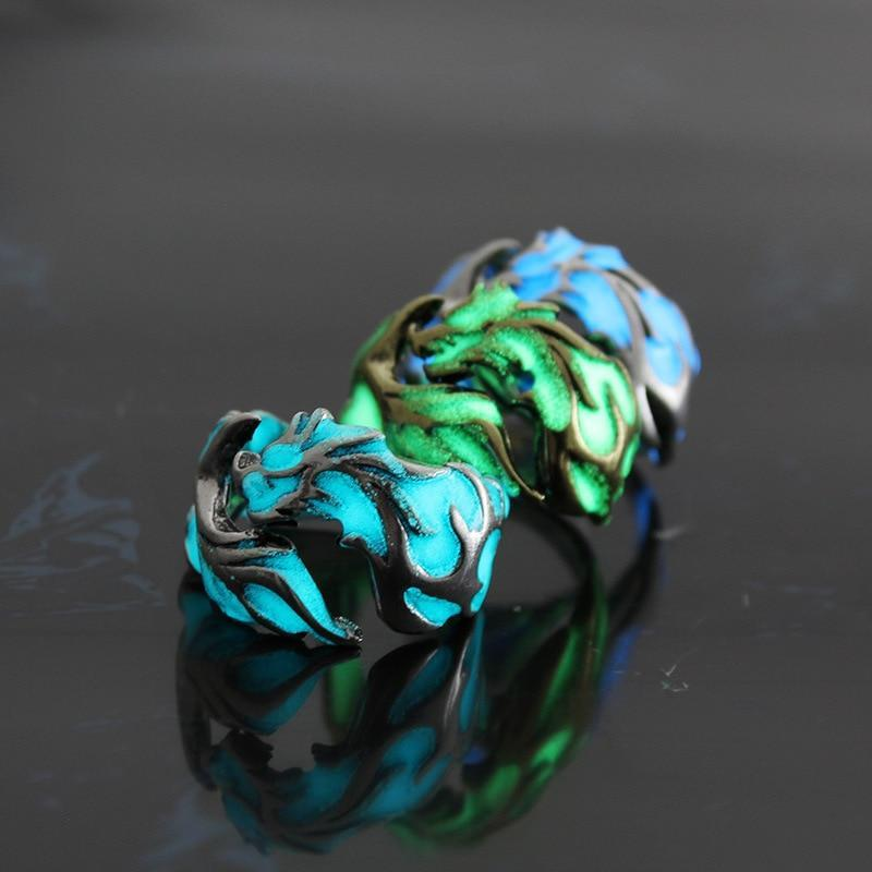 GLOW Hard Praluxe Dragon Ring