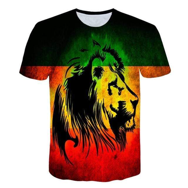 Men Rasta Lion