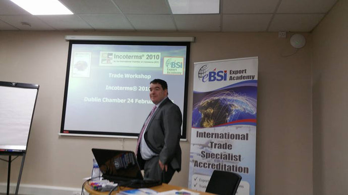 eBSI Export Academy and ICC Ireland deliver Incoterms 2010 training in Dublin Chamber