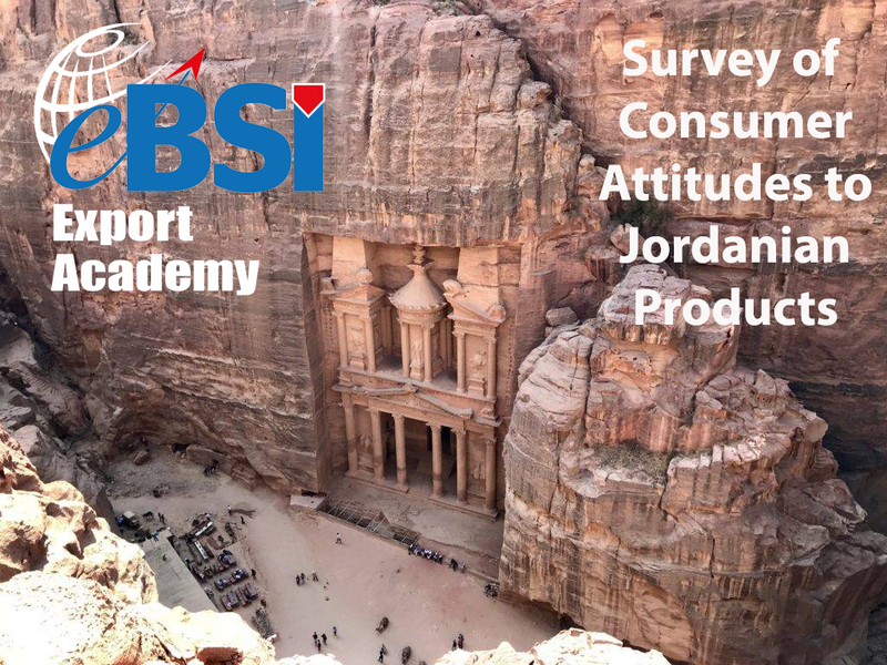 Participate in our survey on Consumer Attitudes to Jordanian Products