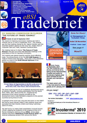eBSI TradeBrief eZine – Issue 5