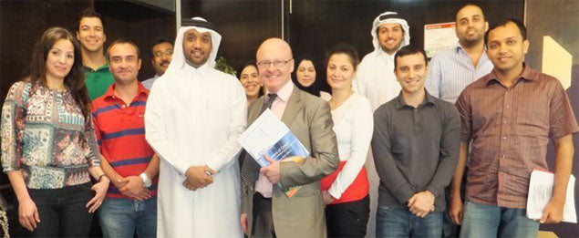 INTERNATIONAL BANK OF QATAR KEEP TRADE TEAM AT CUTTING EDGE