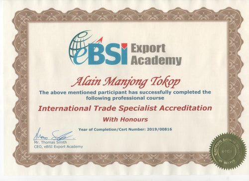 ITSAFT - International Trade Specialist Accreditation - Fast Track Program