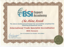 Load image into Gallery viewer, Certificate Issuing Fee - eBSI Export Academy