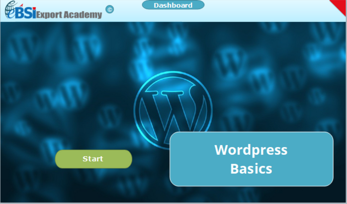 Wordpress Basics - eBSI Export Academy