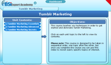 Load image into Gallery viewer, Tumblr Marketing - eBSI Export Academy