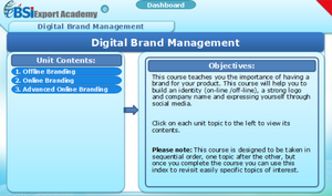 Digital Brand Management - eBSI Export Academy