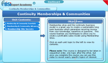 Load image into Gallery viewer, Continuity Memberships and Communities - eBSI Export Academy