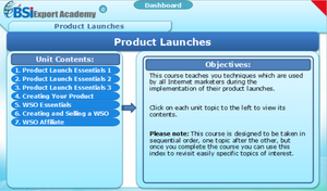 Product Launches - eBSI Export Academy