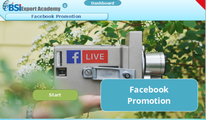 Facebook Promotion - eBSI Export Academy