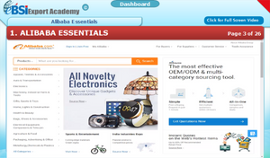 Alibaba Essentials - eBSI Export Academy