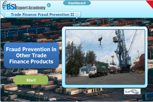 Fraud Prevention - Other Trade Finance Products