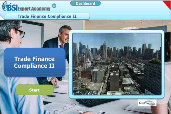 Trade Finance Compliance 2 - eBSI Export Academy