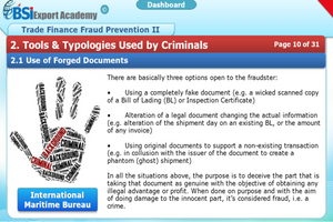 Compliance & Fraud Prevention in Trade Finance - eBSI Export Academy