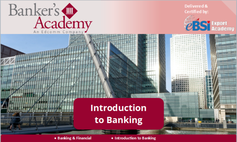 Introduction to Banking - eBSI Export Academy