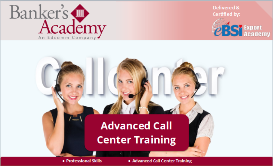 Advanced Call Center Training - eBSI Export Academy