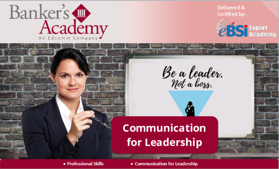 Communication for Leadership - eBSI Export Academy
