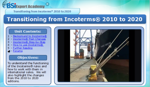 Transitioning from Incoterms 2010 to 2020 - eBSI Export Academy
