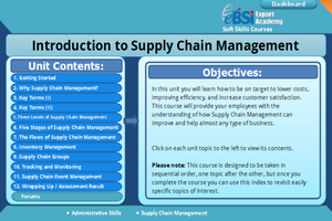 Introduction to Supply Chain Management - eBSI Export Academy