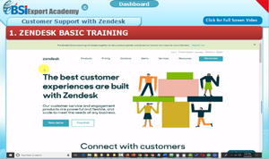 Customer Support with Zendesk - eBSI Export Academy