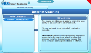 Internet Coaching - eBSI Export Academy