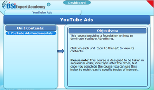 YouTube Ads - eBSI Export Academy