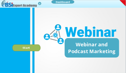 Webinar and Podcast Marketing - eBSI Export Academy
