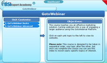 Load image into Gallery viewer, Using GotoWebinar - eBSI Export Academy