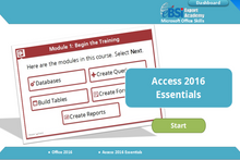 Load image into Gallery viewer, Access 2016 Essentials - eBSI Export Academy