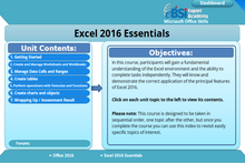 Load image into Gallery viewer, Excel 2016 Essentials - eBSI Export Academy