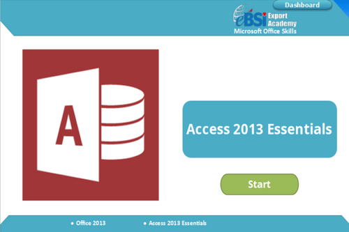 Access 2013 Essentials - eBSI Export Academy